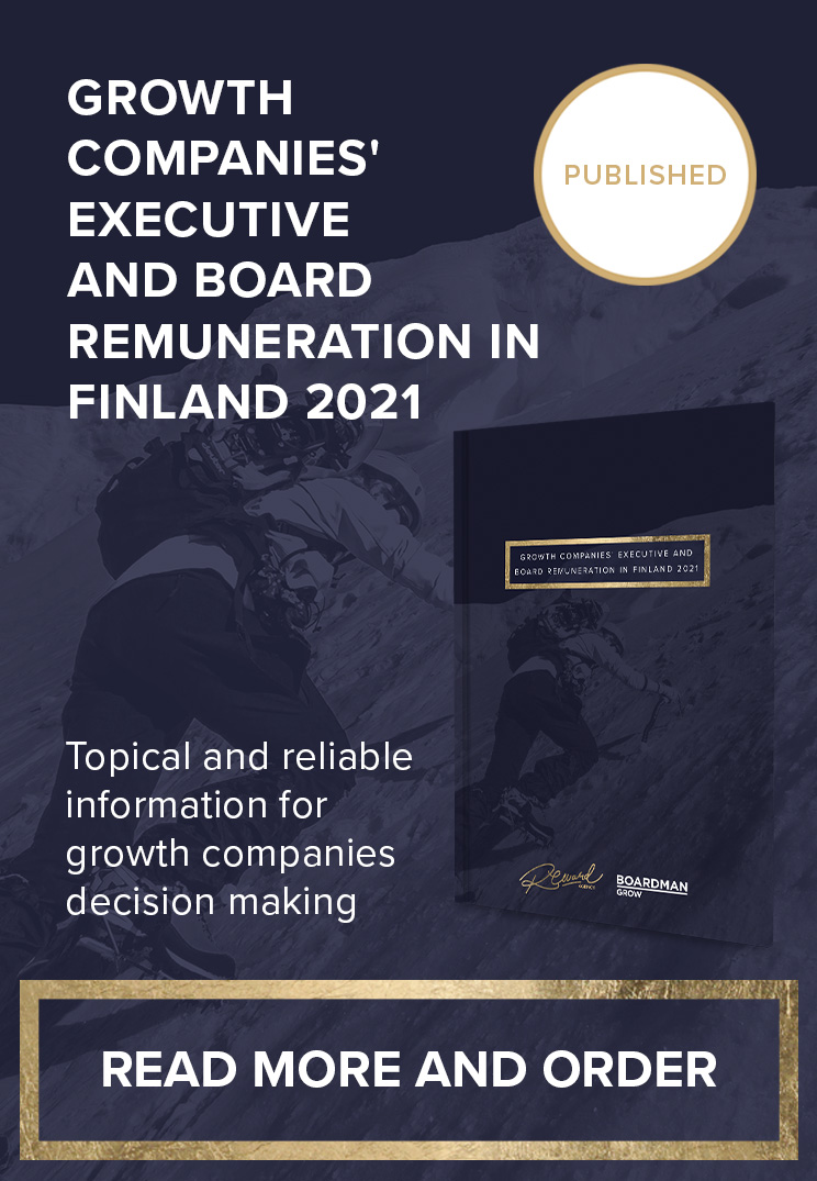 Growth Companies' Executive and Board Remuneration in Finland 2021